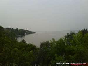 красивый пейзаж на реку Ингул