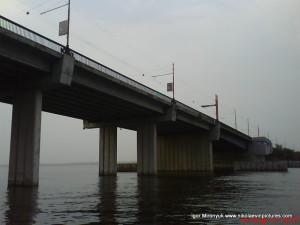 Ингульский мост снизу