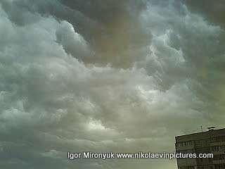 Тучи на небе (перед дождём)