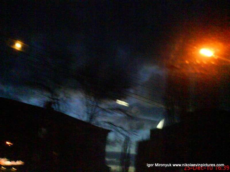 Ночной Николаев фото фонари