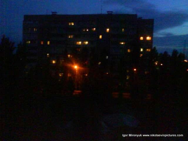 Ночной Николаев фото