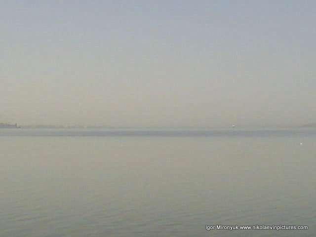 Вода и туман.