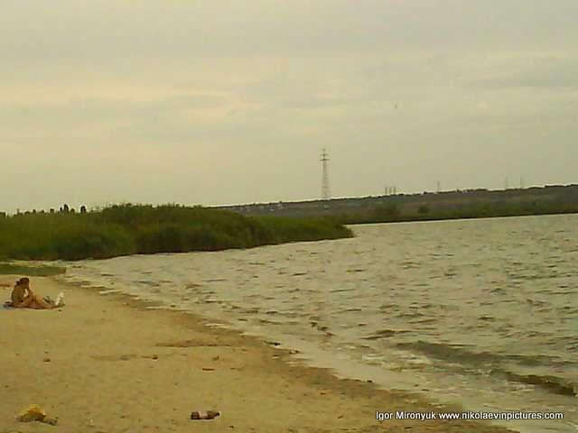 Я вышел на пляж на Намыве.