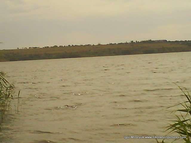 Пейзаж на противоположный берег